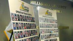 104 personas quedan arrestadas en una operación encubierta contra el tráfico de personas en Florida