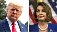 Trump insinuó que Pelosi está poniendo en riesgo el acuerdo comercial del T-MEC