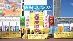 Practicantes de Falun Gong hacen llamado para el fin a la persecución en el Día de los Derechos Humanos