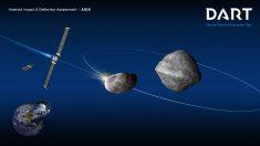 Experimento conjunto de NASA y ESA busca probar la posibilidad de desviar futuros meteoritos