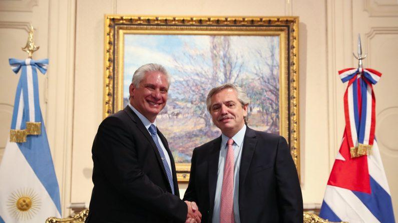 Foto de archivo de la Casa Rosada donde se reunieron Díaz Canel y el presidente argentino Alberto Fernández. Atribución 2.5 Argentina (CC BY 2.5 AR)
