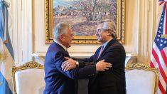 Delegación de EE.UU. almuerza con Alberto Fernández y ofrece ayuda en negociaciones con el FMI