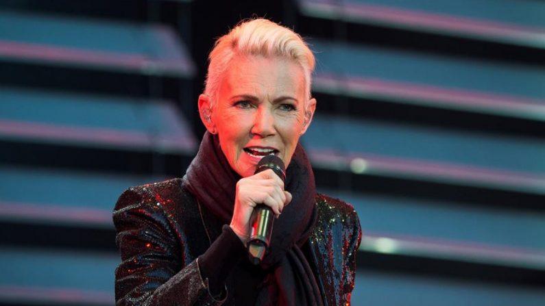 Marie Fredriksson, la cantante de Roxette, en un concierto. EFE/EPA/Suvad Mrkonjic/Archivo