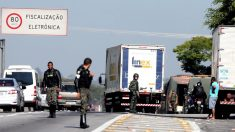 Fracasa convocatoria de huelga de camioneros en Brasil