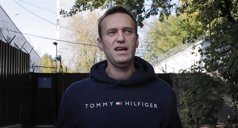 El líder de la oposición rusa, Alexéi Navalni. EFE/EPA/MAXIM SHIPENKOV/Archivo