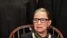 Ruth Bader Ginsburg pone suspensión temporal a la citación sobre los registros financieros de Trump