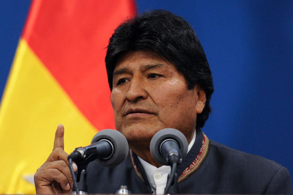 Resultado de imagen de Vox denuncia a Podemos por supuesta financiación irregular del gobierno boliviano de Evo Morales
