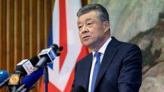 El embajador chino en el Reino Unido afirma que China no tiene prisioneros políticos