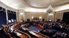 """Republicanos denuncian un voto del impeachment """"falso"""""""