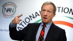 El candidato presidencial multimillonario Tom Steyer contrató a director estatal socialista