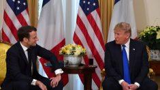 Trump ofrece terroristas del ISIS a Macron