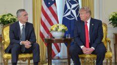 Trump elogia y defiende la alianza de la OTAN en la cumbre