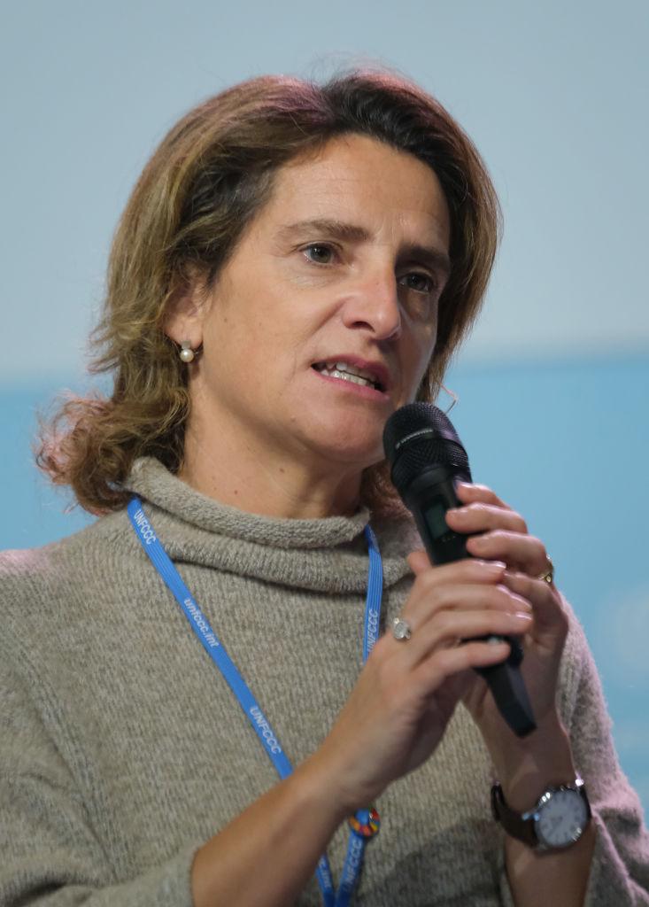 Ministra española de Transición Ecológica, Teresa Ribera