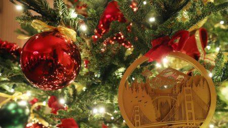 Las decoraciones de Navidad por Melania Trump en la Casa Blanca muestran el espíritu de América