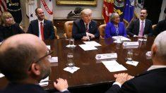 Las acciones suben después de que Trump dice que las negociaciones comerciales están en marcha