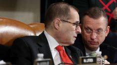 Nadler rechaza petición de republicanos para realizar audiencias de minorías sobre el impeachment