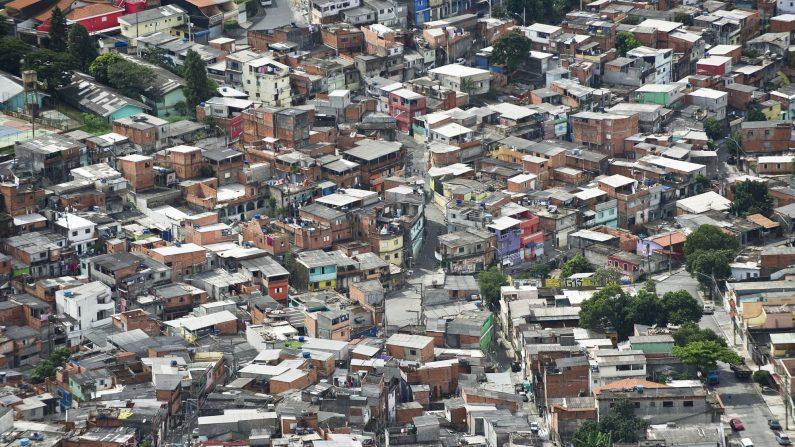 Vista aérea de Sao Paulo, Brasil, el 4 de abril de 2013. (NELSON ALMEIDA/AFP vía Getty Images)
