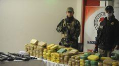 Decomisan 300 kilos de cocaína tras enfrentamiento armado en Chaco paraguayo