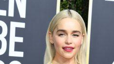 """Emilia Clarke dice que las hemorragias cerebrales que pusieron en peligro su vida son """"algo bueno"""""""