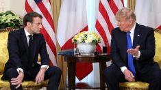 """Trump califica de """"irrespetuosa"""" la crítica de Macron a la OTAN"""