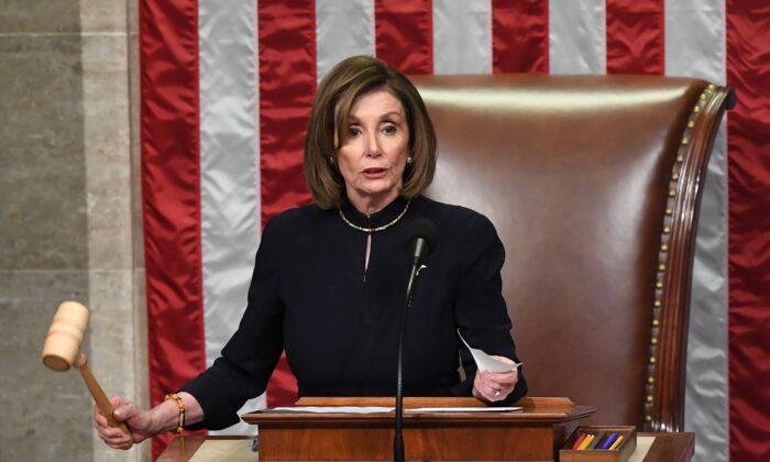Presidente de la Cámara de Representantes, Nancy Pelosi