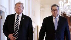"""Barr dice que los comentarios de Trump sobre los casos del DOJ hacen que """"sea imposible hacer mi trabajo"""""""