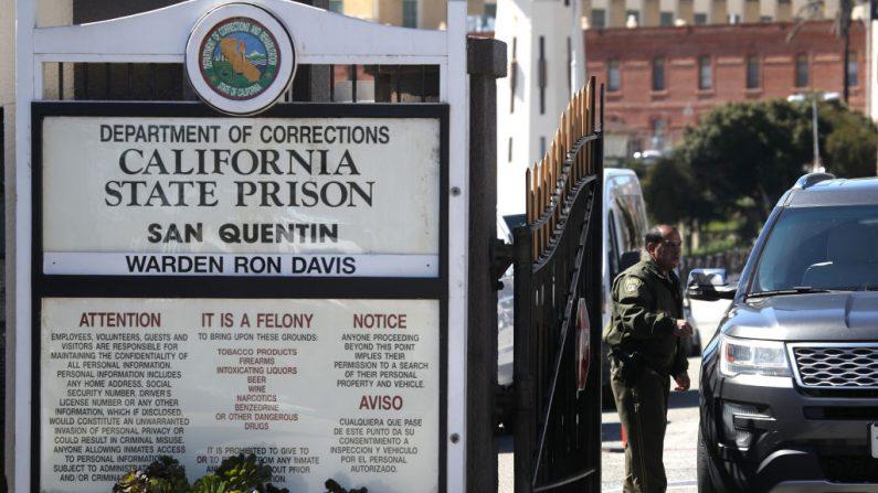 Foto de archivo de la Prisión Estatal de San Quintín el 13 de marzo de 2019 en San Quintín, California. (Créditos: Justin Sullivan/Getty Images)