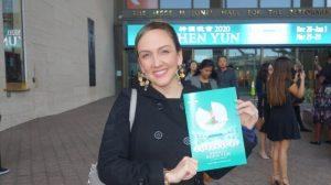 Shen Yun es exquisito, delicado y divino, dice propietaria de estudio de danza