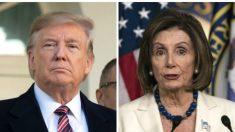 """Casa Blanca: Pelosi y los demócratas """"odian"""" el éxito de Donald Trump"""