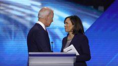 Senadora Kamala Harris da su apoyo a Joe Biden para primarias demócratas