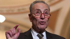 La prioridad es el impeachment, dijo Schumer a los senadores que se postularon para la presidencia