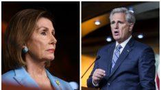 """Líder de minoría de la Cámara a demócratas vulnerables: Pelosi """"acaba de hacerles perder el trabajo"""""""