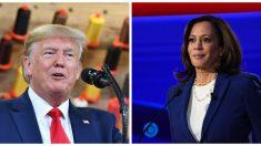 """Trump dice """"la extrañaremos"""", tras renuncia de Kamala Harris a las elecciones de 2020"""