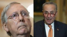Schumer y McConnell están en desacuerdo sobre el juicio de impeachment en el Senado