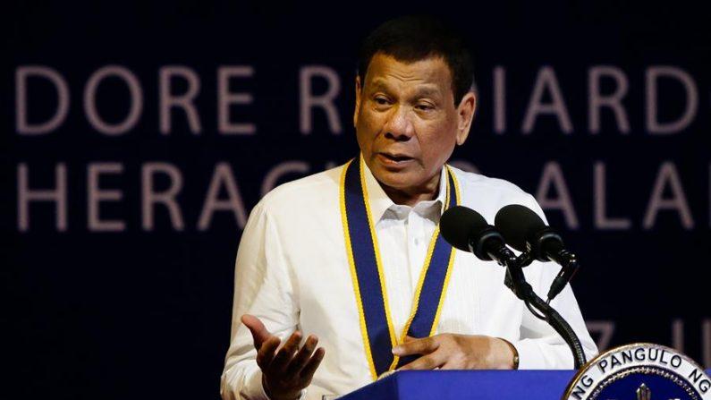 El presidente de Filipinas, Rodrigo Duterte. (EFE/Mark R. Cristino/Archivo)