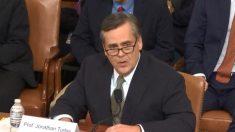 Johnathan Turley, testigo republicano en la audiencia del Impeachment, dice que recibió amenazas