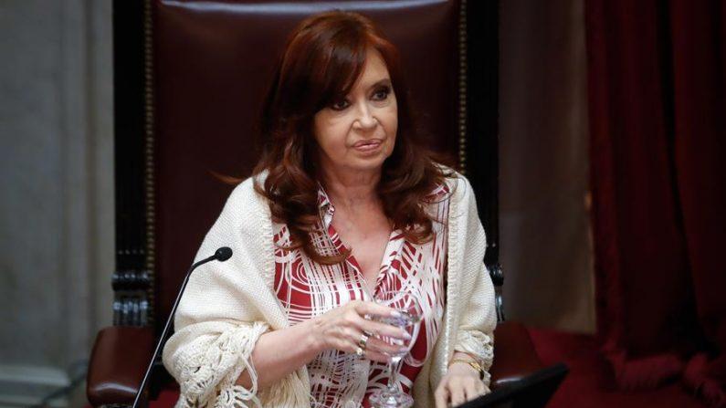 Ex-presidente argentina Cristina Fernández de Kirchner (EFE / Juan Ignacio Roncoroni / Arquivo)