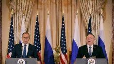 """Pompeo a canciller ruso: """"La interferencia en nuestros asuntos internos es inaceptable"""""""