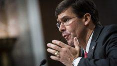 EE.UU no enviará 14,000 soldados a Medio Oriente, los informes son falsos dijo el secretario de Defensa
