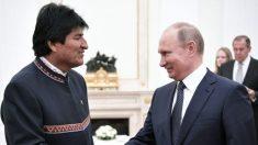Evo Morales diz que quer maior presença russa na Bolívia para 'equilibrar a situação'