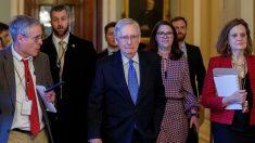 "Líder republicano do Senado vê processo de Trump como ""precedente tóxico"""