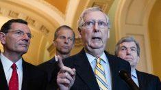 Senadores republicanos se oponen al plan de los demócratas de retener artículos del impeachment