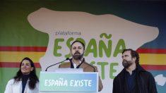 """Vox moviliza 100,000 españoles al grito de """"España Existe"""" en rechazo al Gobierno de Sánchez e Iglesias"""