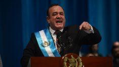 El nuevo presidente de Guatemala rompe relaciones con el régimen de Maduro