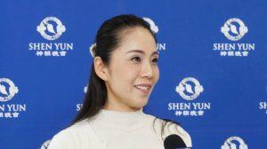 Bailarina japonesa se maravilla de la Danza Clásica China en Shen Yun