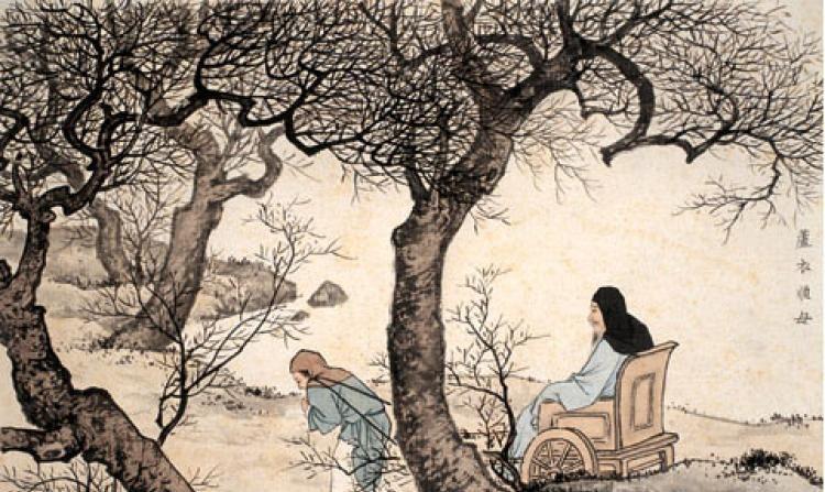 Min Ziqian, del período Primavera-Otoño (770 a.C. - 476 a.C.) es todo un ejemplo moral de piedad filial. (Minghui Net)
