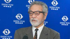 Exconcejal japonés descubre que Shen Yun brinda esperanza a la gente