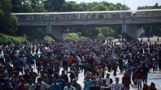 México está arrestando a los migrantes que cruzaron ilegalmente la frontera con Guatemala