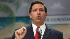 """Gobernador de Florida, Ron DeSantis, dice que la orden de quedarse en casa sería """"inapropiada"""""""