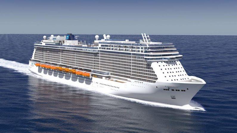 "Representación cedida del crucero de Norwegian Cruise Line, ""Breakaway"". EFE/Meyer Werft"